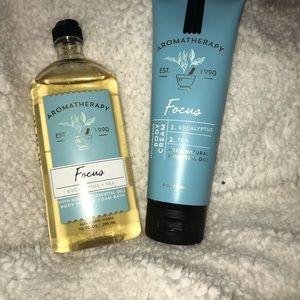 Bath & Body Works Focus Aromatherapy Set Of 2